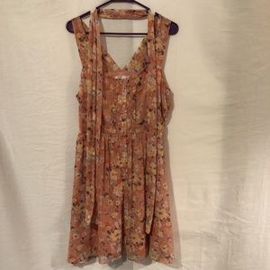 Lauren Conrad 16 Dress A Line Floral